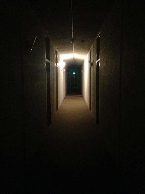 Quiet quiet hallways
