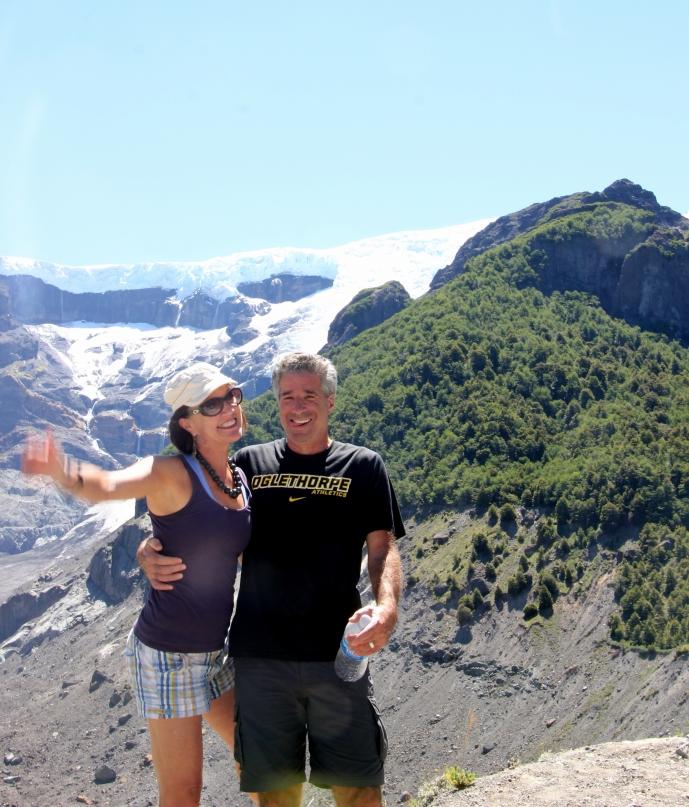 Me & Larry glacier