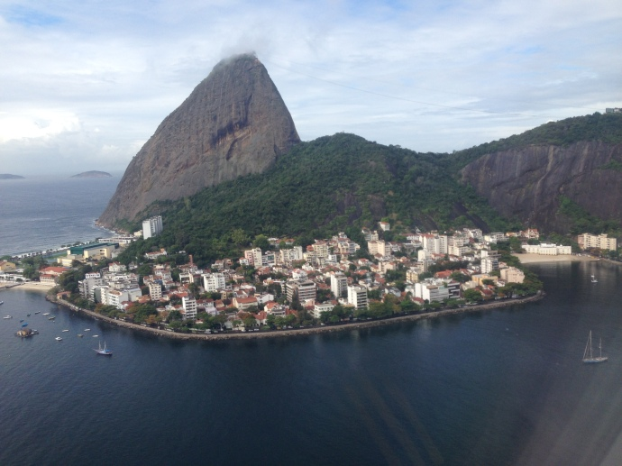 Landing in Rio